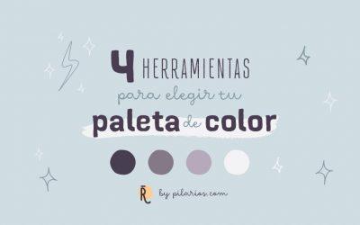 4 herramientas para elegir tu paleta de color