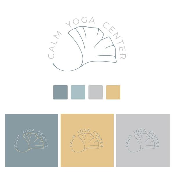 Imagen corporativa para centro de yoga
